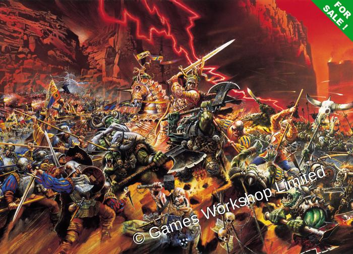 White Dwarf 250 Empire Vs. Orcs and Goblins