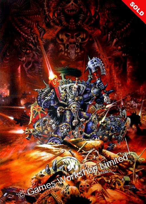 Warhammer Monthly Issue 70 - Chaos Marines