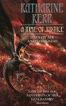Time of Justice bookcover - art by Geoff Taylor