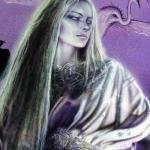 Detail Image of Silver Mage, art not used for bookcover - art by Geoff Taylor