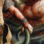 Detail Image, Slayer of the Storm God - art by Geoff Taylor