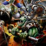 Detail Image Empire v. Orcs and Goblins - art by Geoff Taylor