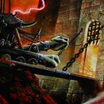 Fortress box art detail ancient battering ram - art by Geoff Taylor