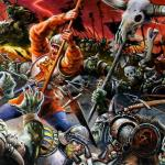 Detail Image of Empire v. Orcs and Goblins - art by Geoff Taylor