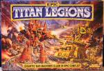 Titan Legions games box cover - art by Geoff Taylor