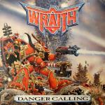 Wraith, album Danger Calling - Chaos Warrior art - art by Geoff Taylor